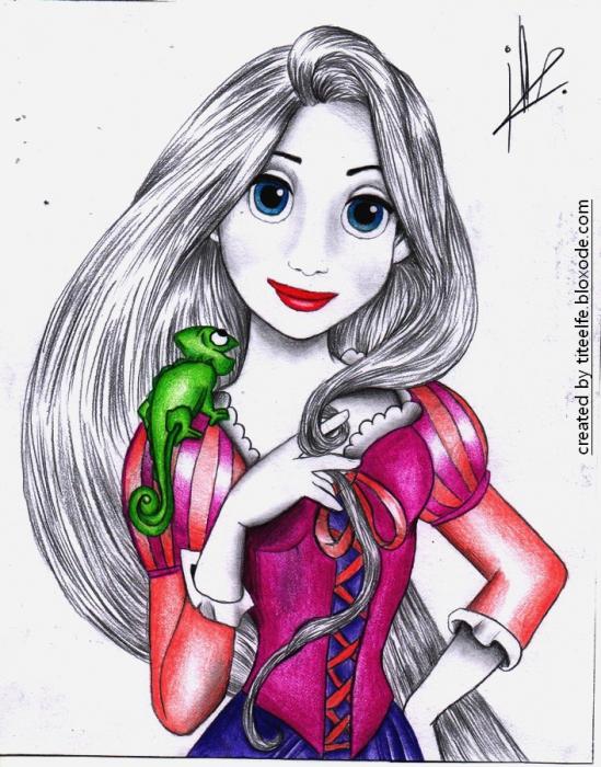 Rapunzel por prettymeryl